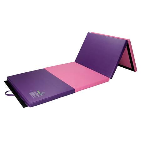 Dream Tree Gymnastics Mat 3 X 8 Tri Folding Tumbling Mats With