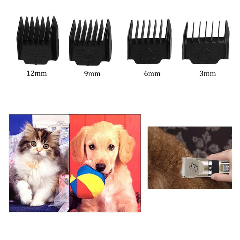 Pet Clipper Professional Low Noise Cordless Pet Cat Dog Hair Grooming Trimmer Clipper Kit