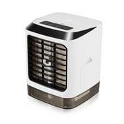 7 colour light Air Cooler Portable Air Conditioner Fan Mini Desk Cooling Fan USB Evaporative Air Cooler