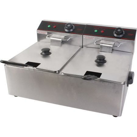 fryer lb vollrath countertop commercial deep series cayenne
