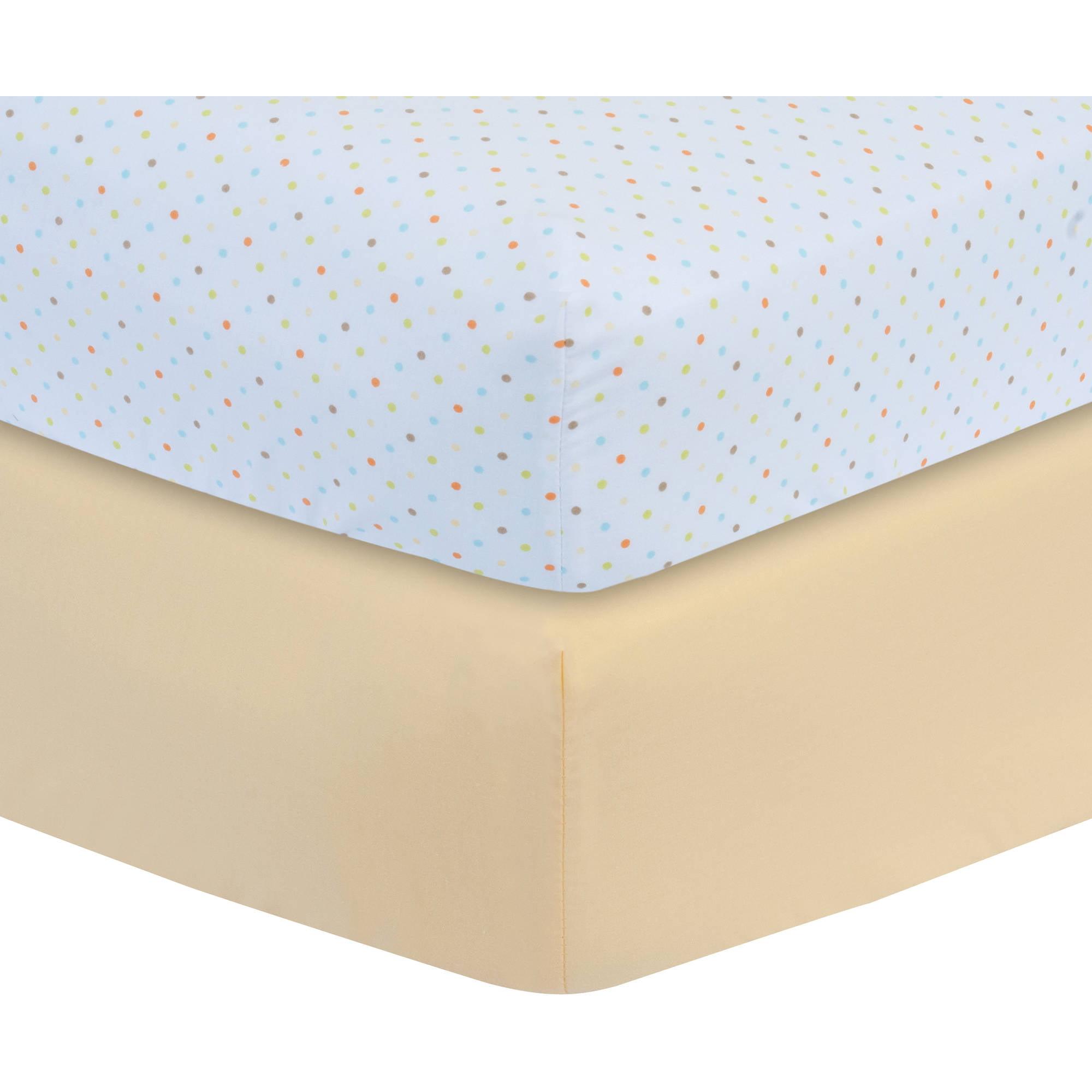 garanimals crib sheet  pack  walmartcom -