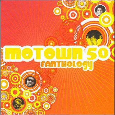 Motown 50 Fanthology  2Cd