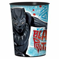 Black Panther Marvel Superhero Avengers Birthday Party Favor 16 oz. Plastic Cup