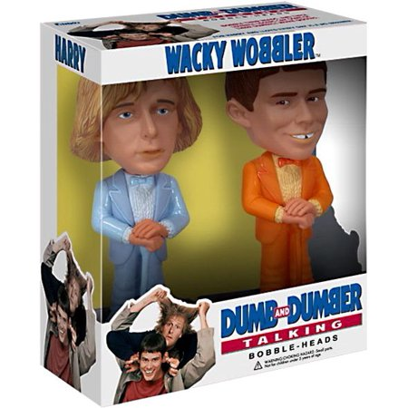 Funko Dumb and Dumber Wacky Wobbler Talking Harry & Lloyd Bobble Head 2-Pack - Harry Dunne Dumb And Dumber