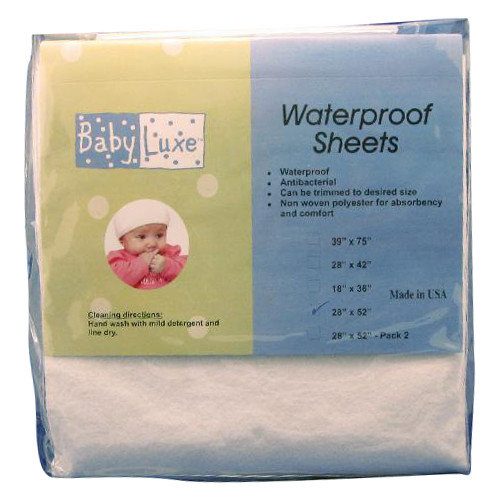 L A Baby Waterproof Crib Sheet Walmart Com