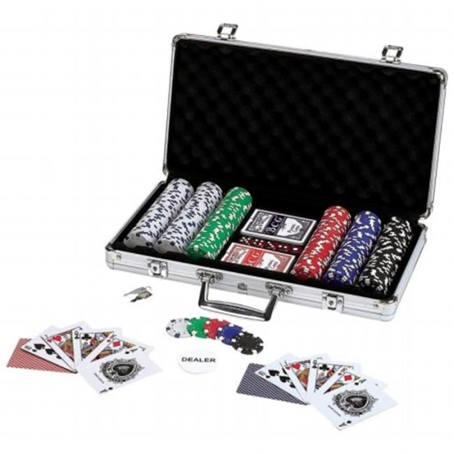 Maxam 309Pc Poker Set with Alum.  Case