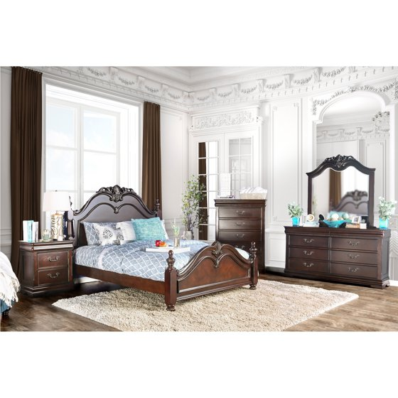 Furniture Of America Bastillina English Style 4-piece