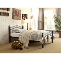 Averny Metal Platform Bed, Twin size