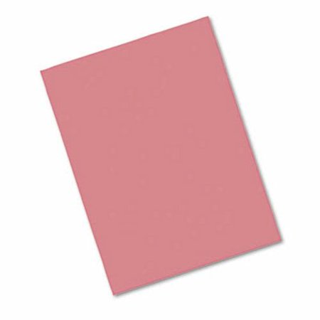 Pacon Construction Paper, 76 lbs., 9 x 12, Raspberry, 50 Sheets -