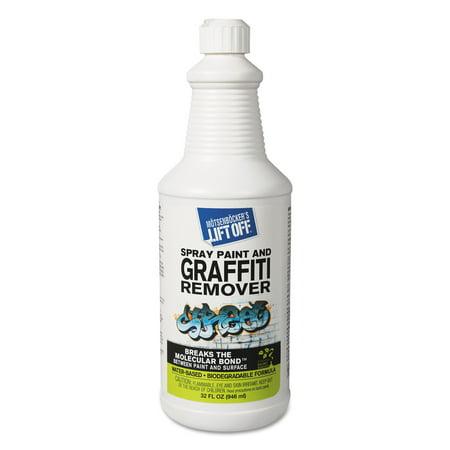 Motsenbocker's Lift-Off 4 Spray Paint Graffiti Remover, 32 fl oz, (Pack of