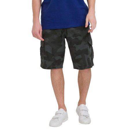 bossini Green Selection Mens Camo Print Cargo Shorts 29, Waist 30