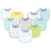 Deals on 10 Pack Luvable Friends Baby Boy and Girl Drooler Bibs