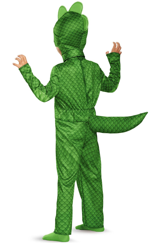 pj masks gekko classic costume for toddler walmart com