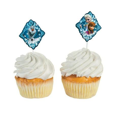 Disney Frozen Cupcake Picks](Disney Cupcake Picks)