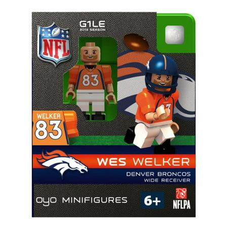 Oyo Denver Broncos Wes Welker Figure - image 1 of 1