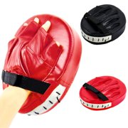 Boxing Pads Focus Mitts   Curved Hook and Jab Target Hand Pads   Great for MMA, Muay Thai, Kickboxing, Martial Arts, Karate Training   Padded Punching, Coaching Strike Shield