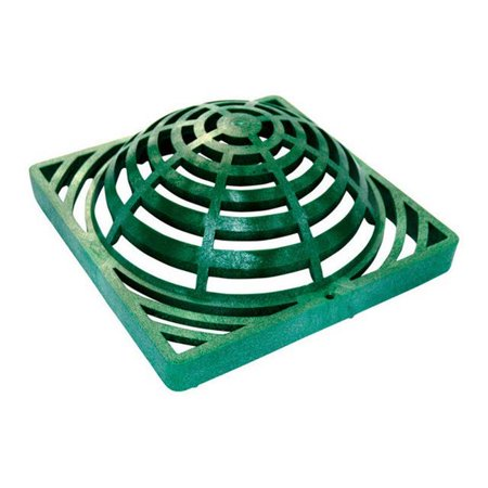 NDS 991 7 in. Green Heavy Duty Atrium Drain Grate