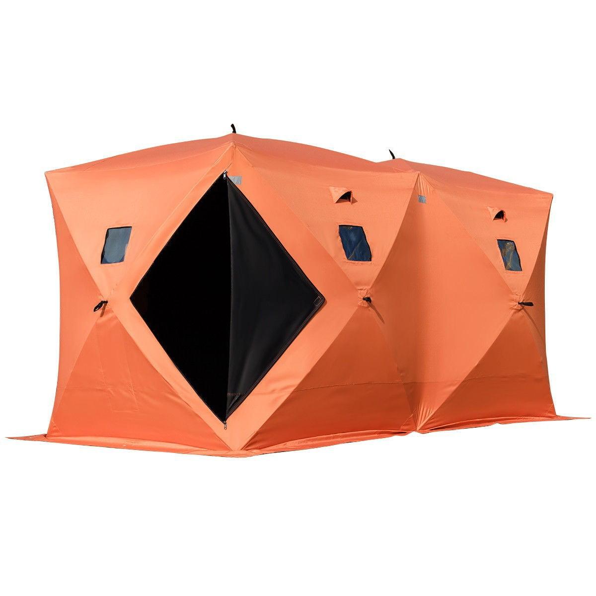 Waterproof Pop-up 8-person Ice Shelter Fishing Tent Outdoor - Walmart.com  sc 1 st  Walmart & Waterproof Pop-up 8-person Ice Shelter Fishing Tent Outdoor ...