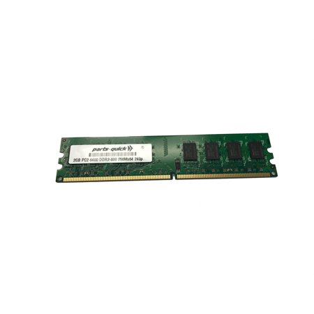 - 2GB DDR2 PC2-6400 RAM Memory Upgrade for Dell Optiplex 160 210L 330 360 740 755 760 960 (PARTS-QUICK)