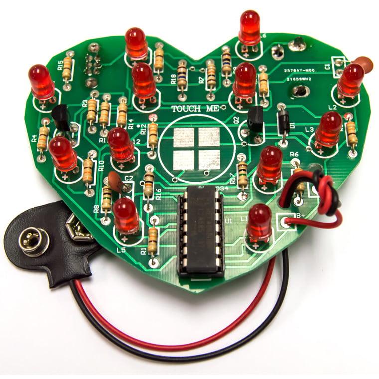 Emotional Heart Soldering Kit (Beginner Level) DIY Educational Practice