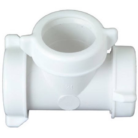 (Plumb Shop Div Brasscraft 622-548 1-1/4 Or 1-1/2-Inch O.D. Tube Slip Joint Plastic Lavatory/Kitchen Drain Tee,)