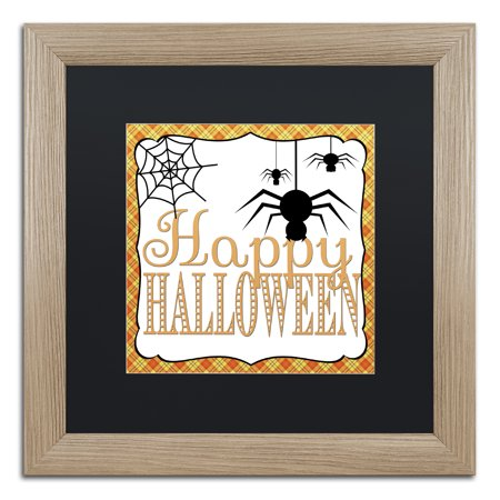 Trademark Fine Art 'Halloween Spiders' Matted Framed Art by Jennifer Nilsson](Matt Morrison Halloween)