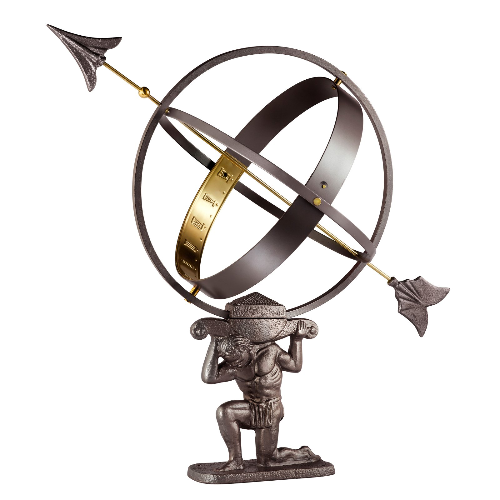 Good Directions Atlas Armillary Sundial