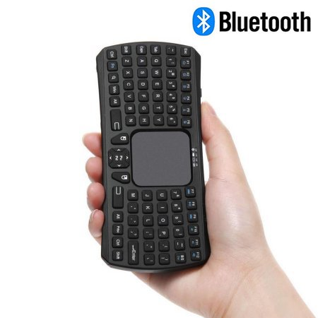Mini Bluetooth Keyboard Jelly Comb Rechargable Handheld Remote