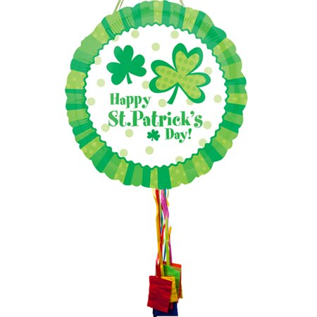St. Patrick's Day Pull String Pinata - Party Supplies