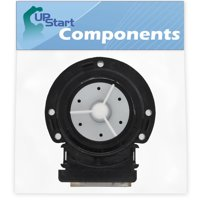 4681EA2001T Washer Drain Pump Motor Replacement for LG WM4270HVA (00) Washing Machine - Compatible with 4681EA2001T Water Pump - UpStart Components Brand