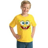 SpongeBob Face Youth Kids T-Shirt
