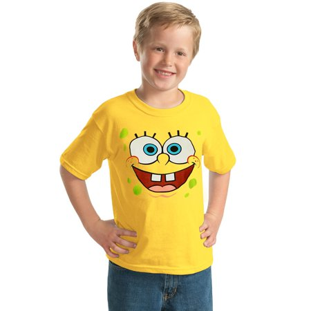 SpongeBob Face Youth Kids T-Shirt](Spongebob Girl)