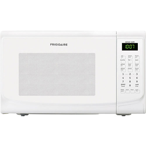 Frigidaire 1.4 Cu Ft 1100W Countertop Microwave Oven, White
