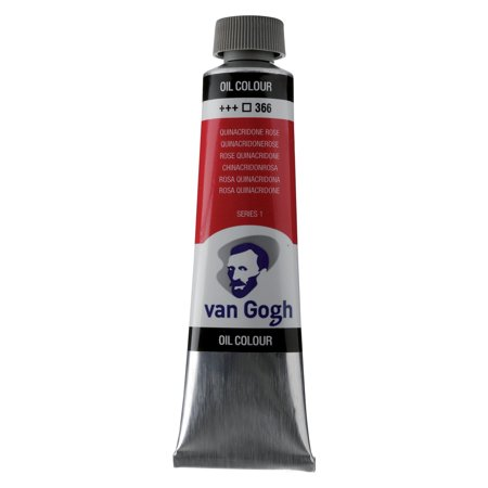 Royal Talens Van Gogh Oil Color, 40ml, Quinacridone Rose
