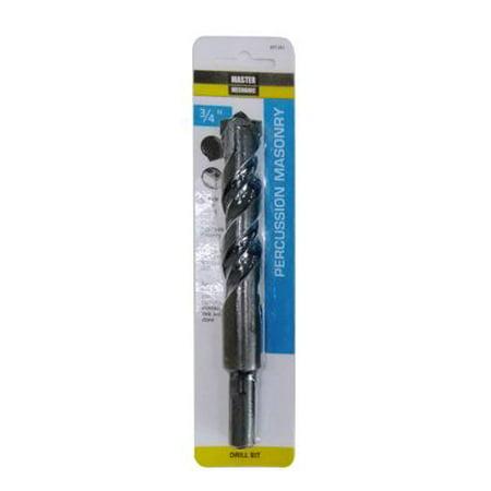 691261 Percussion Masonry Drill Bit, Carbide Tip, 3/4 x 6-In. - Quantity 1 Carbide Tipped Percussion