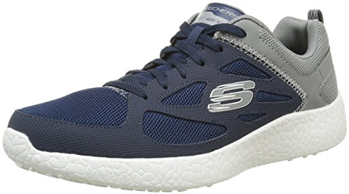 Skechers Men's Burst Sneaker,Navy/Gray,US 9.5 M