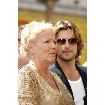 Judith Ann Hawkins Gabriel Aubry At The Induction Ceremony For Star On The Hollywood Walk Of Fame For Halle Berry Hollywood Boulevard In Front Of Kodak Theatre Los Angeles Ca April 03 2007 Photo By Mi