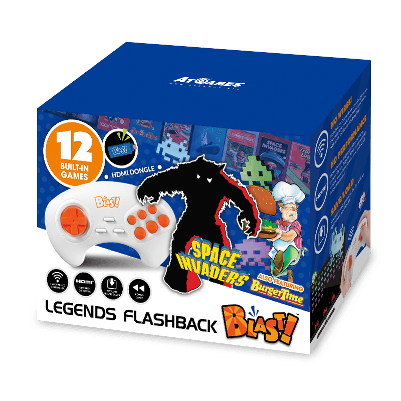 Bandai Namco Space Invaders Flashback Blast!