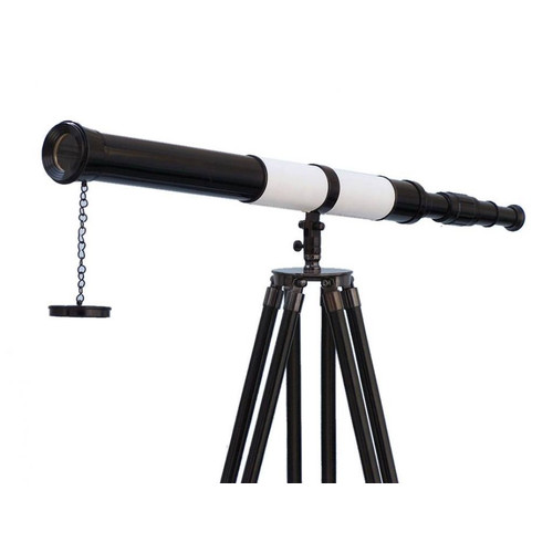 Handcrafted Nautical Decor Admiral's Decorative Telescope