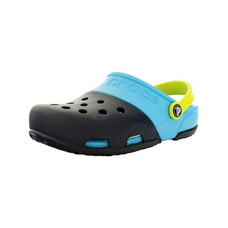 2038b6752 Crocs Electro Ii Clog Navy Electric Blue Unisex Infant Slingback Size 5M -  image 2 of ...