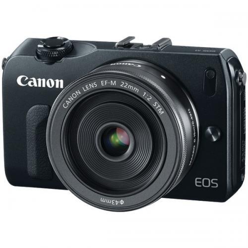 Canon 6609B074 18.0 Megapixel EOS M EF-M Digital Camera S...