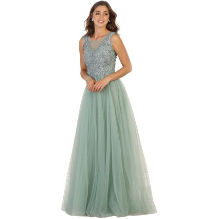 Royal Queen Special Occasion Evening Gown Plus Size Walmart