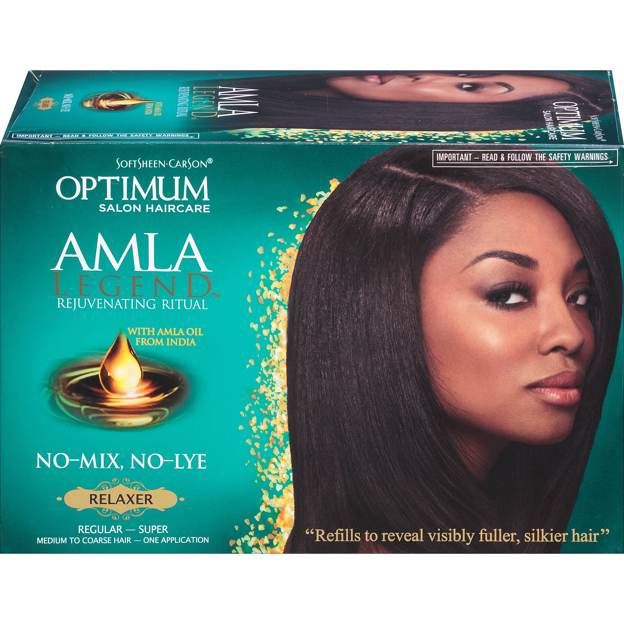 Optimum Amla Legend No-Mix, No-Lye Relaxer