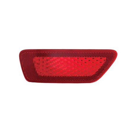 - Factory New Mopar Part # 57010721AC Rear Bumper Reflector Driver Side (left) for Jeep Cherokee, Jeep Grand Cherokee, Jeep Compass, and Jeep Patriot