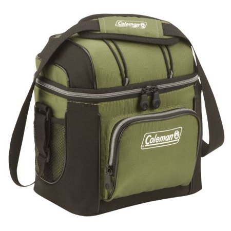 9-Can Soft Cooler With Hard Liner, Holds 9 cans; Heat-welded seams prevent flexible liner leaks..., By Coleman Ship from US (Flexible Liver)