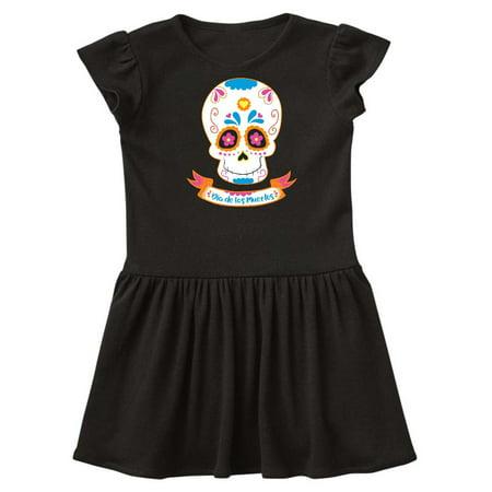 Day Of The Dead Skull Toddler Dress