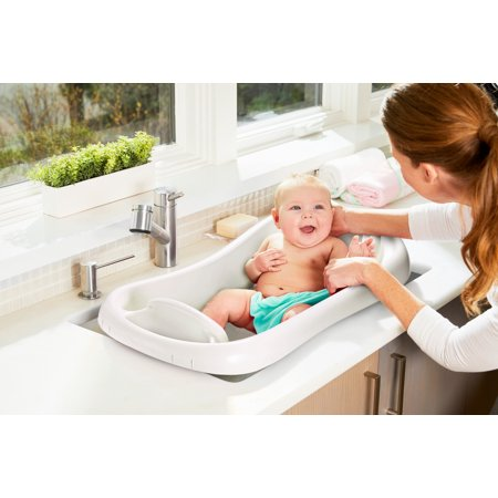 The First Years Sure Comfort Newborn to Toddler Tub - White