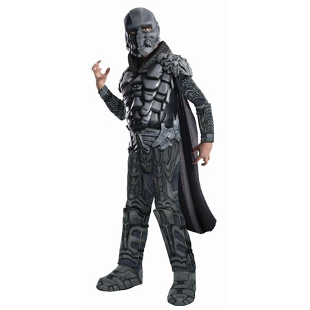 Superman Man Of Steel General Zod Deluxe Muscle Chest Costume Child Small](Superman Chest Plate)