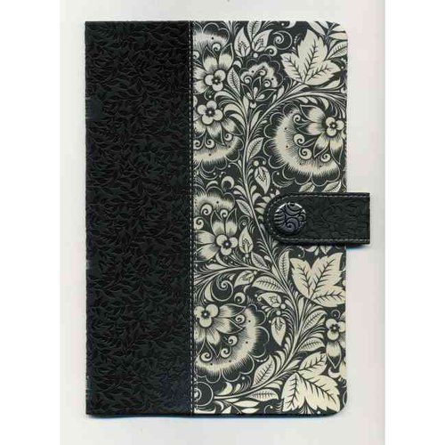 Holy Bible: King James Version, Ultraslim, Black & White Leathersoft/Fabric