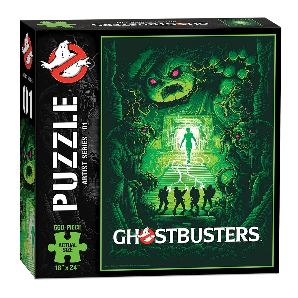 Ghostbusters Art 550 Piece Puzzle